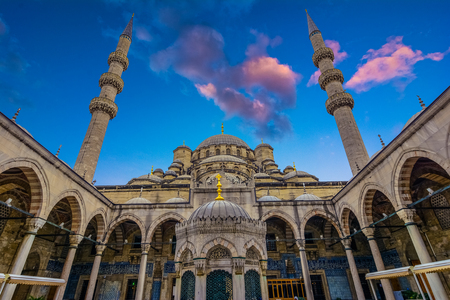 Sultan ahmed Mosque is located in the city of Istambul. It was built during the ruel of Ahmed I. Its populary known as the Blue Mosque,Istanbul, Constantinople, Turkey