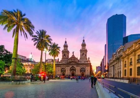 Santiago de Chile, Chile: Plaza de Armas, main square of Chile capital city, Santiago