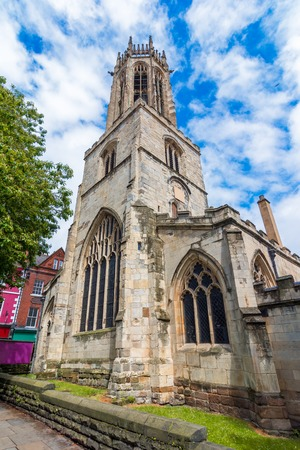York, Englad, United Kingdom,The church of All Saints with its octagonal tower now serving as a war memorial, in a beautifull afternoon Reklamní fotografie