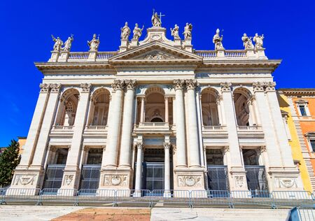 Rome, Italy: The Cathedral of the Most Holy Savior and of Saints John the Baptist and the Evangelist in the Lateran Reklamní fotografie