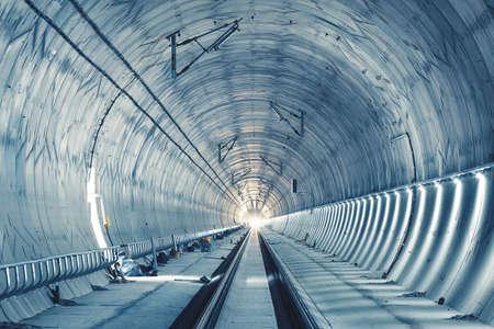 Tunnelbau. Ejpovicke tunely/Ejpovice Tunnel.
