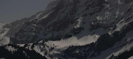 moonlit mountain side
