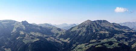 alpine mountain panorama