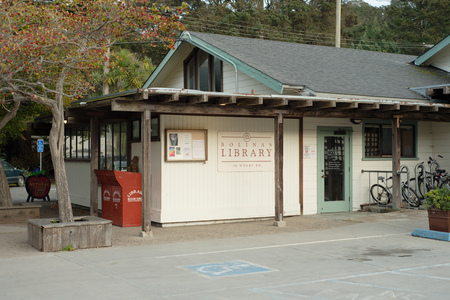 BOLINAS, CALIFORNIA NOVEMBER 22, 2016 The Bolinas Library Editorial