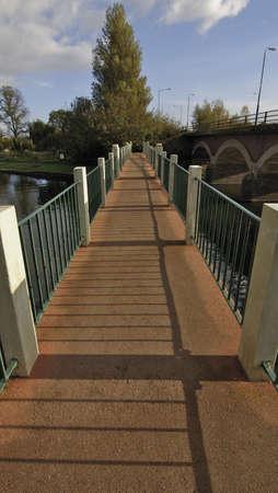 Brücke über den Fluss Avon Stratford-upon-Avon, Warwickshire Midlands, England UK Standard-Bild
