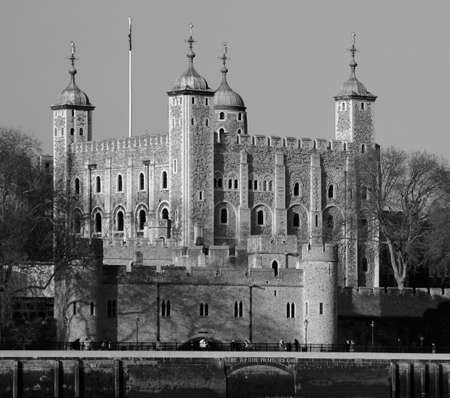 tower of london river thames england london uk united kingdom Stock Photo - 610606