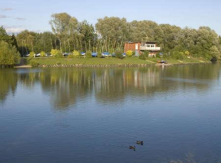 boathouse: lake boathouse