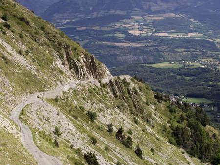 mountain pass photo