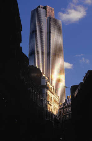 phallic: NatWest Tower, Ciudad de Londres bloque de oficinas en la ciudad de londres