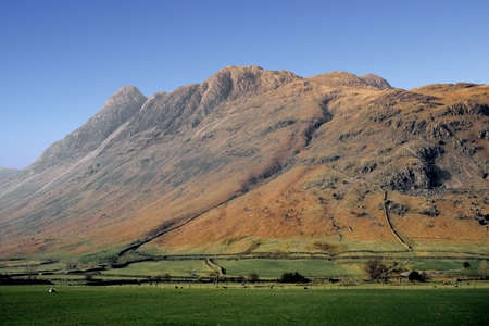 mountains hills fells the english lake district cumbria uk Stock Photo - 637114
