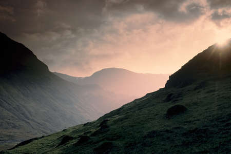 fells: mountains and fells sun valley english lake district