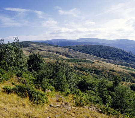 roussillon: wilderness country cevennes national park languedoc roussillon france
