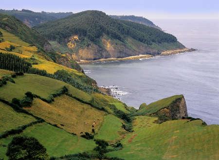 asturias: asturias coast spain green spain costa verde