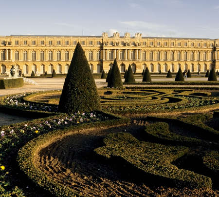 palais: palais palace of versailles paris france europe Stock Photo