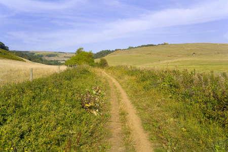 streifzug: Wanderweg  Lizenzfreie Bilder