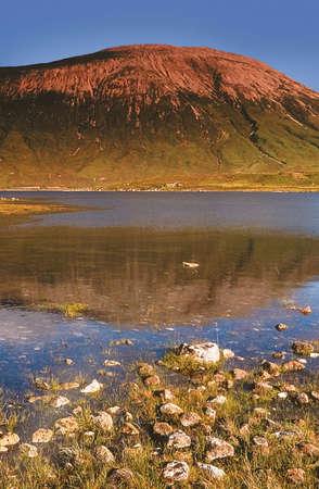 lochs: loch ainort isle of skye Stock Photo