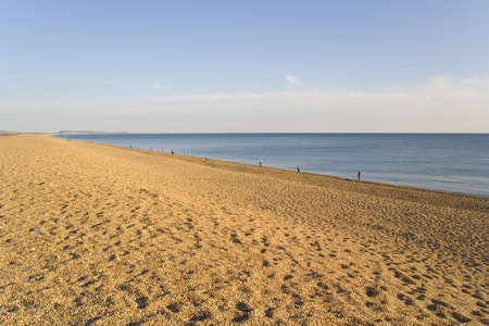 dorset: england dorset coast chesil beach