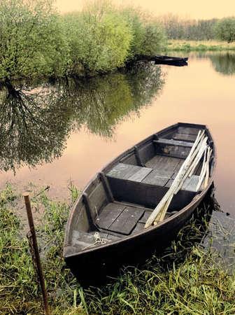 loire: river loire  fishing boat france