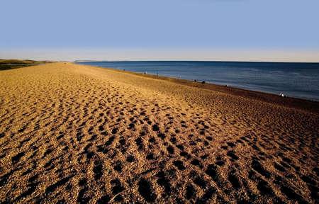 dorset:  dorset coast chesil beach