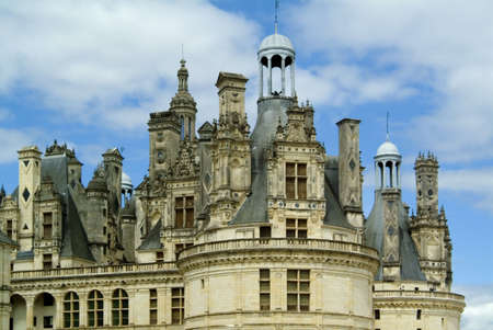 chateau chambord loire valley france photo