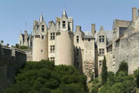 loire: chateau montreuil bellay loire valley france