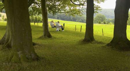 viewpoints: couple having picnic