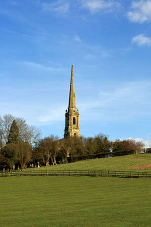 tardebigge: church on hill Stock Photo