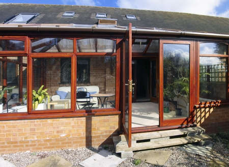conservatory: conservatory built onto house homes lifestyle
