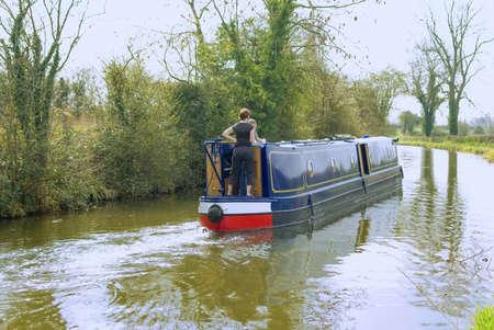 avon: stratford upon avon canal warwickshire midlands england uk