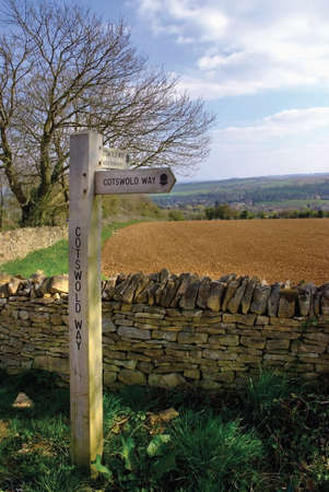 cotswold way long distance footpath chipping campden photo