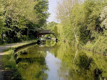 streifzug: die Stratford-upon-Avon Canal lapworth Flug von Schl�ssern Kingswood Kreuzung Warwickshire den Midlands england uk  Lizenzfreie Bilder