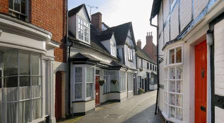 warwickshire: market town of alcester warwickshire.