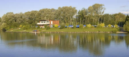 boathouse: lake boathouse arrow valley redditch