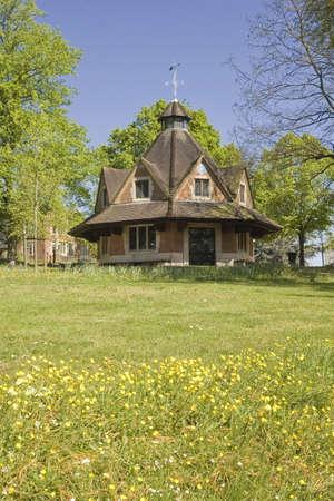 quaker: carillon wild flowers bourneville birmingham midlands england uk