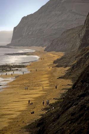 dorset: beach charmouth dorset  Stock Photo