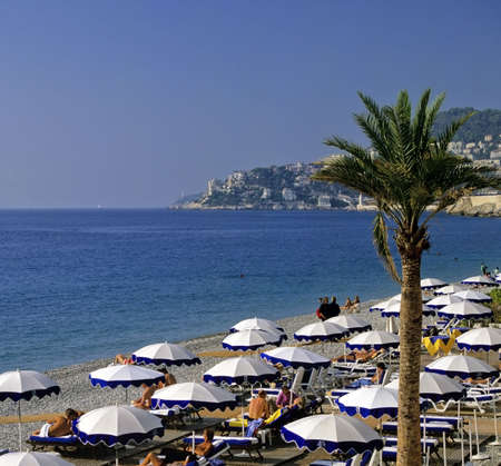 des: beach promenade des angalais nice alpes-maritime provence cote dazur french riviera south of france meditteranean france europe