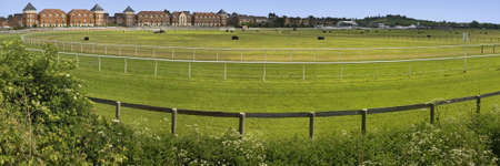 racecourse: stratford-upon-avon racecourse warwickshire england uk