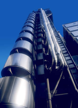 lloyds london: lloyds of london insurance company building london england uk europe