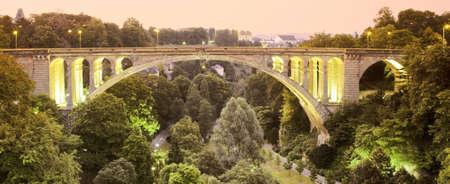 pont adolphe bridge luxembourg europe