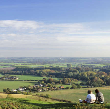 counties: pegston hills hertfordshire bedfordshire home counties england uk europe