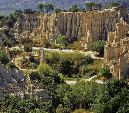 les: Ille sur Tete Les Orgues Pyrenees Orientales Languedoc Roussillon France Europe