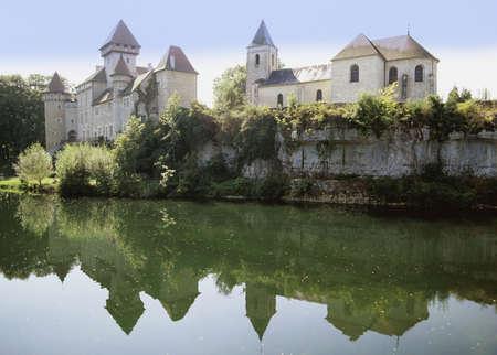 jura: chateau  doubs jura franche compte france europe
