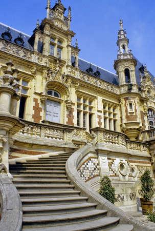 benedictine: Palacio benedictino FECAMP Seine Maritime Normand�a Francia