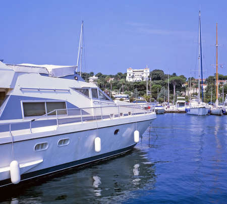 cap d'antibes antibes holiday resort  alpes maritme cote d'azur provence france Stock Photo - 1297434
