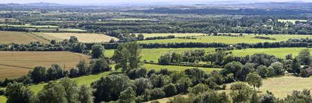 country park: Warwickshire vista sobre el campo de burton dassett colinas parque pa�s
