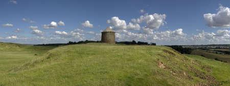 country park: Ver m�s de Warwickshire campo de la Burton Dassett colinas parque pa�s Foto de archivo