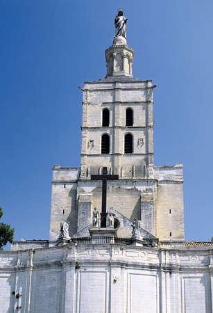 palais: france south of france palais des papes avignon vaucluse Stock Photo