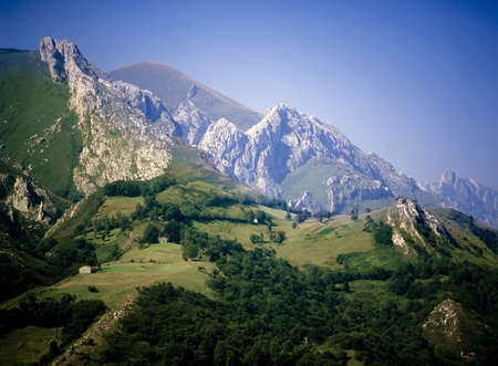 picos: Picos de Europa Mountains Asturias Spain