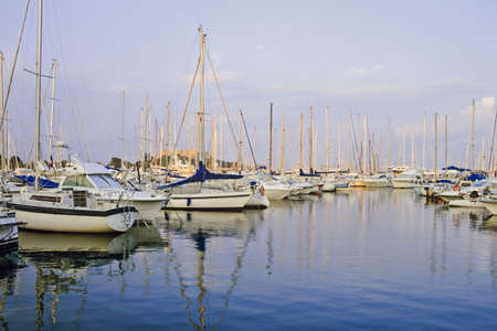 harbour antibes alpes maritime cote d'azur french riviera provence south of france europe Stock Photo - 1357074