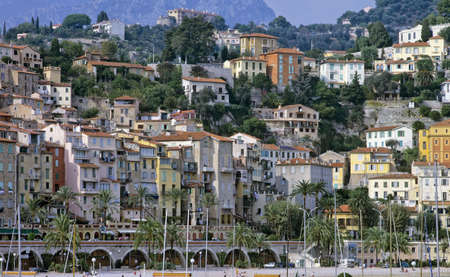 Alpes: menton harbour alpes maritime cote dazur french riviera south of france